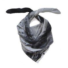 first wave - silk scarf