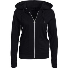 Röhnisch Sonia Sweat Hood ($92) ❤ liked on Polyvore featuring tops, hoodies, black, jumpers & cardigans, sports fashion, womens-fashion, black top, black zip hoodie, zip hoodies and black hooded sweatshirt