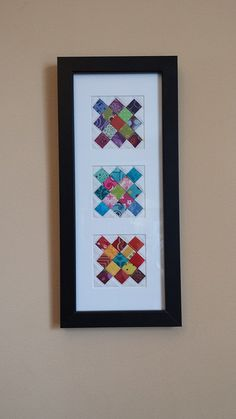Would Brenda help me make this project for our home? mini granny squares each Old Quilts, Barn Quilts, Small Quilts, Mini Quilts, Quilting Room, Quilting Projects, Quilting Designs, Quilting Tips, Granny Square Quilt