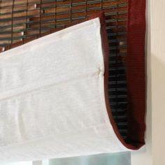 Liner For Bamboo Blinds - master bath