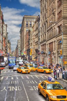Busy Streets of New York City