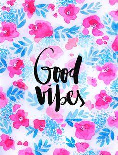 Good Vibes Collaboration by Jacqueline Maldonado and Galaxy Eyes Art Print