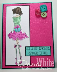 Uptown Girl Paisley has a Prezzie - Image from Stamping Bella