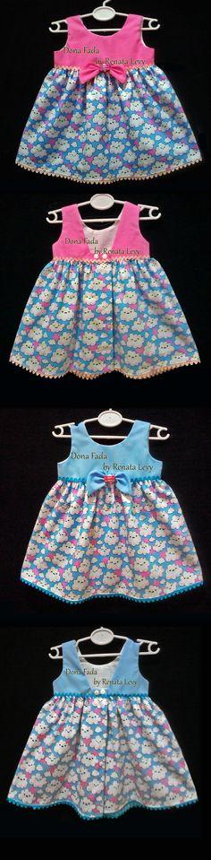Vestido 6/9 meses _______________baby - infant - toddler - kids - clothes for girls - - - https://www.facebook.com/dona.fada.moda.para.fadinhas/