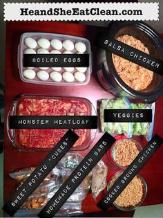 Looking for the answer on how to stay on track to meet your weight loss goals? FOOD PREP! Get all the details on HeandSheEatClean.com.