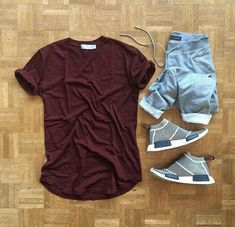 New Sneakers Fashion Men Streetwear Outfit Grid Ideas Komplette Outfits, Casual Outfits, Fashion Outfits, Outfits Hombre, Tomboy Fashion, Mens Fashion, Sneakers Fashion, Fashion Shoes, Casual Wear