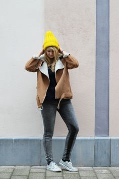 5c844ba5fe31 Casual Yellow - Rooftop Antics.  Casual Yellow outfit Converse Ilovemrmittens DIESEL8