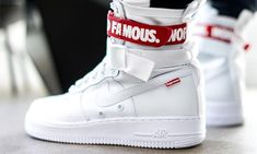 This Custom Supreme x Nike Special Forces Air Force 1 Comes With Just The Right Amount of Details