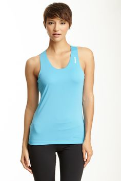 Reebok Workout Ready Long Bra Tank Bra #RacerbackWomen #Shirts