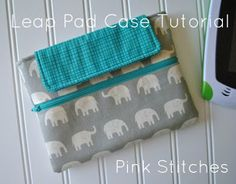 Pink Stitches: Leap Pad Case Tutorial