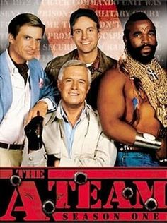 A Team! My kids loved it but so did I. Loved looking at George Peppard and the character who played Face. George Peppard, 80s Tv Series, Film Serie, Childhood Tv Shows, My Childhood Memories, Great Tv Shows, Old Tv Shows, The Ateam, 1980s Tv Shows