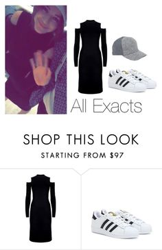 """""""Eleanor and Max on Snapchat"""" by thetrendpear-eleanor ❤ liked on Polyvore featuring ZoÃ« Jordan, Reality Studio and adidas"""