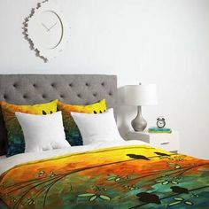 Charlton Home® Currin Comforter Set & Reviews | Wayfair Queen Comforter Sets, Duvet Sets, Grey Comforter, Duvet Cover Sizes, Duvet Covers, Ruffle Bedding, Luxury Bedding, Comforters, Design