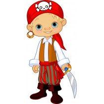 Stickers enfant Jeune Pirate