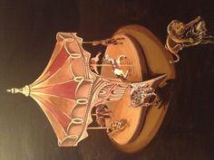 """Carousel"" by M. J. Hinman"