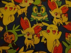 "New ""PACKED WITH POKEMON"" Handmade Cotton Pillowcase Standard/Queen #Handmade #Cartoon"