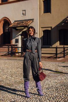 Spring Street Style, Street Style Looks, Cool Street Fashion, Milan Fashion, Fashion Trends, Beauty Magazine, Autumn Inspiration, Modern Fashion, Fashion Photo