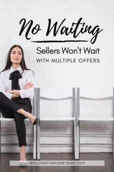 Time is of the essence in real estate, even more so in a competitive market. Buyers and agents alike need to act quickly when homes are flying off the market faster than they're coming on. With these types of market conditions, a buyer should never expect a seller to wait around from them. #multipleoffers #homebuying