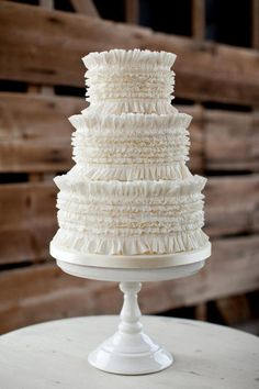 I'm not sure if this one is buttercream or not, but it could be done in both buttercream or fondant.