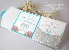 MUESTRAS de invitación de la boda por InspirationsbyAmieLe en Etsy