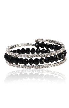 plus size wrap around bead and stone bracelet  $12.50