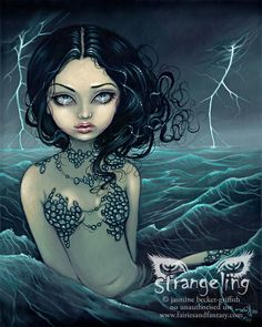 Sea Storm by Jasmine Becket-Griffith