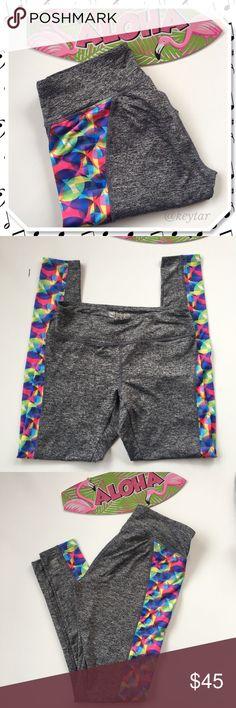 Selling this LuLaRoe Geometric Print 'Jade' Athletic Capris on Poshmark! My username is: keytar. #shopmycloset #poshmark #fashion #shopping #style #forsale #LuLaRoe #Pants