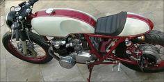 Cafe Honda CB 550