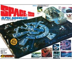 Upcoming Space:1999 Moonbase Alpha model kit reissue with upgraded base & parts - from MPC / Round 2