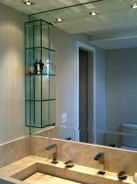 nicho de vidro para banheiro - Pesquisa Google