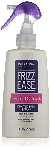 John Frieda Frizz Ease Heat Defeat Protective Styling Spray By JOHN FRIEDA - spray to protect colored hair from heat styling Aloe Leaf, Makeup Store, Curly Girl, Jojoba Oil, Protective Styles, Cut And Color, Beauty Hacks, Beauty Stuff, Spray Bottle