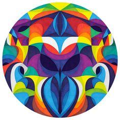 Anai Greog's lasa Circle Decal