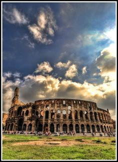 Rome, Italy (BTW... whoever took this photo is awesome! Love a wide angle lens!)