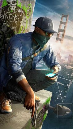 Watch Dogs Marcus Holloway render by DigitalZky on DeviantArt