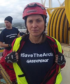 DOING IT FOR THE KIDS: Lucy Lawless says she wants to save the Arctic from