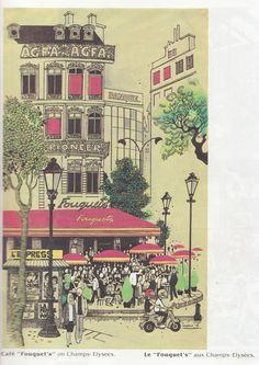 paris by Mario Miranda