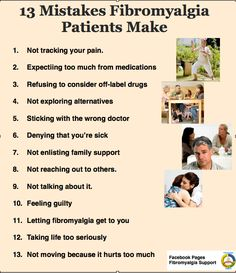 13 mistakes Fibro patients make-Life with Fibromyalgia ... #3 and #4 ... are key.. check out our many supplements and body wraps to help with your pain... Relief and Thermofit do wonders for pain.  https://wrapyourselfbeautifuldirect.myitworks.com/shop