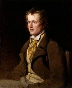 portrait of John Clare by William Hilton,  1786-1839