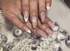 French nails design for wedding / Esküvői francia köröm