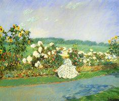 Childe Hassam - Summertime, 1891