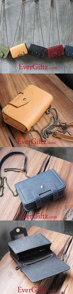 Genuine Leather Handmade Handbag Crossbody Bag Shoulder Bag Clutch Purse