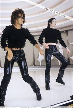<3 Michael Jackson <3 & Janet photo from video Scream