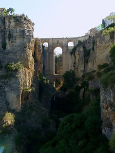 The Puente Nuevo Bridge, Ronda, Spain