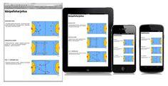 Katso harjoitteita selaimessasi tai ota ne mukaasi tableteilla tai mobiililaitteilla.