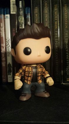 Supernatural Dean Winchester Custom Funko pop by MistyFigs