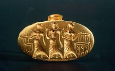 Minoan Dancing Women Gold Ring
