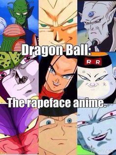 DBZ rape face