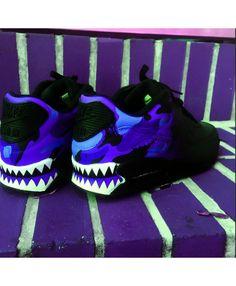 free shipping 3459b 082de ... nike air max 90 bape fade purple black shoes ...