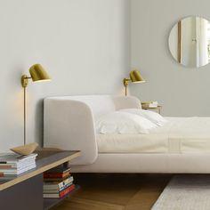 Bedroom Reading Lights, Bedroom Decor Lights, Bedroom Nook, Bedroom Lighting, Condo Bedroom, Master Bedroom, Bedside Wall Lights, Wall Sconces, Bedroom Sconces