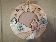 Handmade Ornaments, Xmas Ornaments, Christmas Clay, Christmas Crafts, Ceramic Clay, Ceramic Pottery, Ceramic Christmas Decorations, Diy Air Dry Clay, Pottery Handbuilding